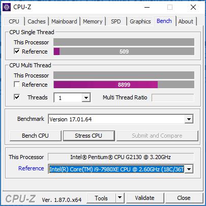 CPU Z тесты