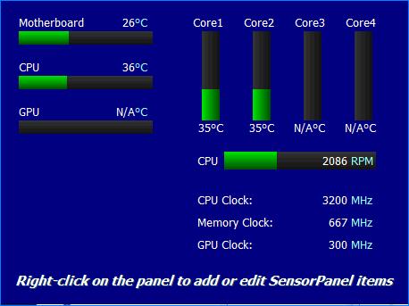 Сенсорная панель AIDA64